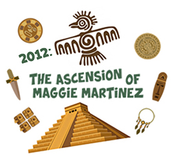The Ascension of Maggie Martinez Logo